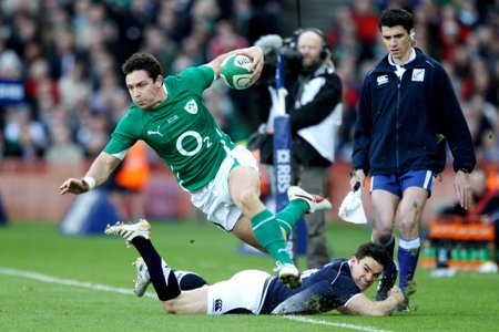 Wallace: Jones and Murray were ready for Ireland call