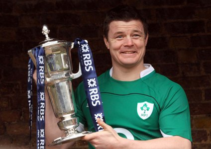 O'Driscoll admits to feeling less pressure