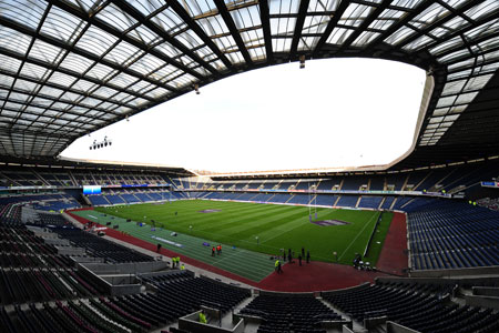 Fans snap up Murrayfield tickets