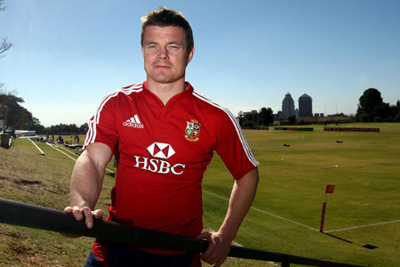O'Driscoll's Lions tour over