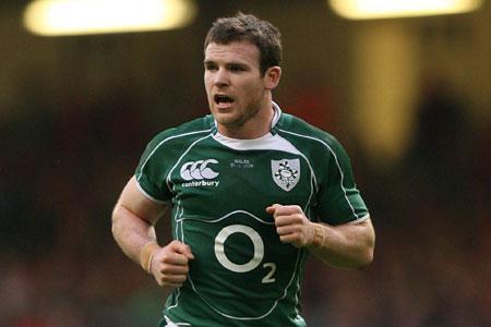 D'Arcy pleased with Irish presence