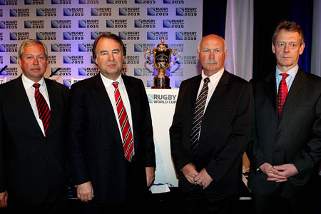 England to host 2015 World Cup