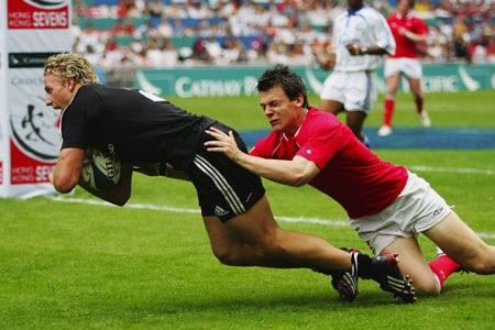 Wales lose out to All Blacks