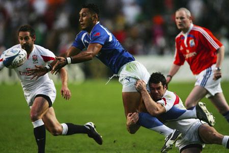 Samoa end England hopes