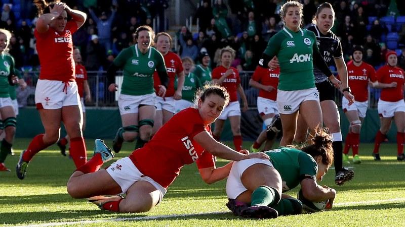 Ireland Women 35 Wales Women 12