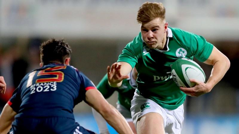 Ireland Under-20s 27 France Under-20s 22