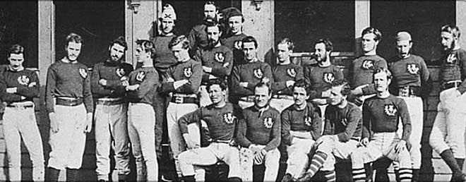 Scotland Rugby Team - 1871