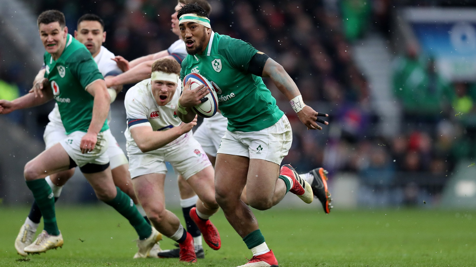 Aki hits his straps ahead of 2019 Guinness Six Nations
