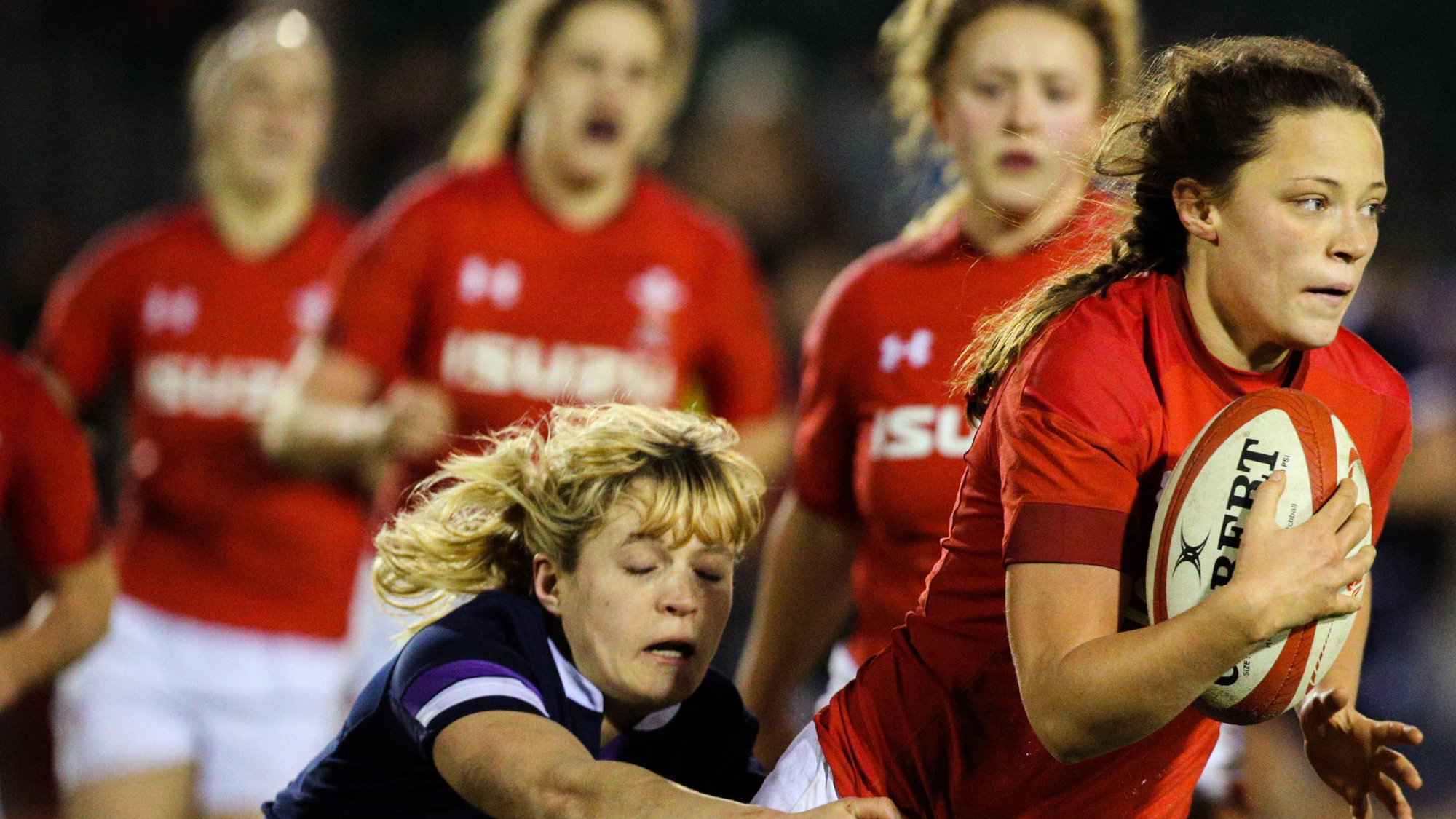 Action continues for Women's Six Nations stars