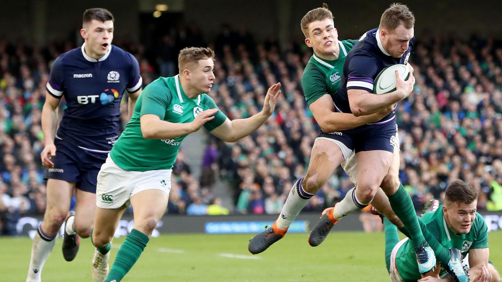 Ireland v Scotland, 2018