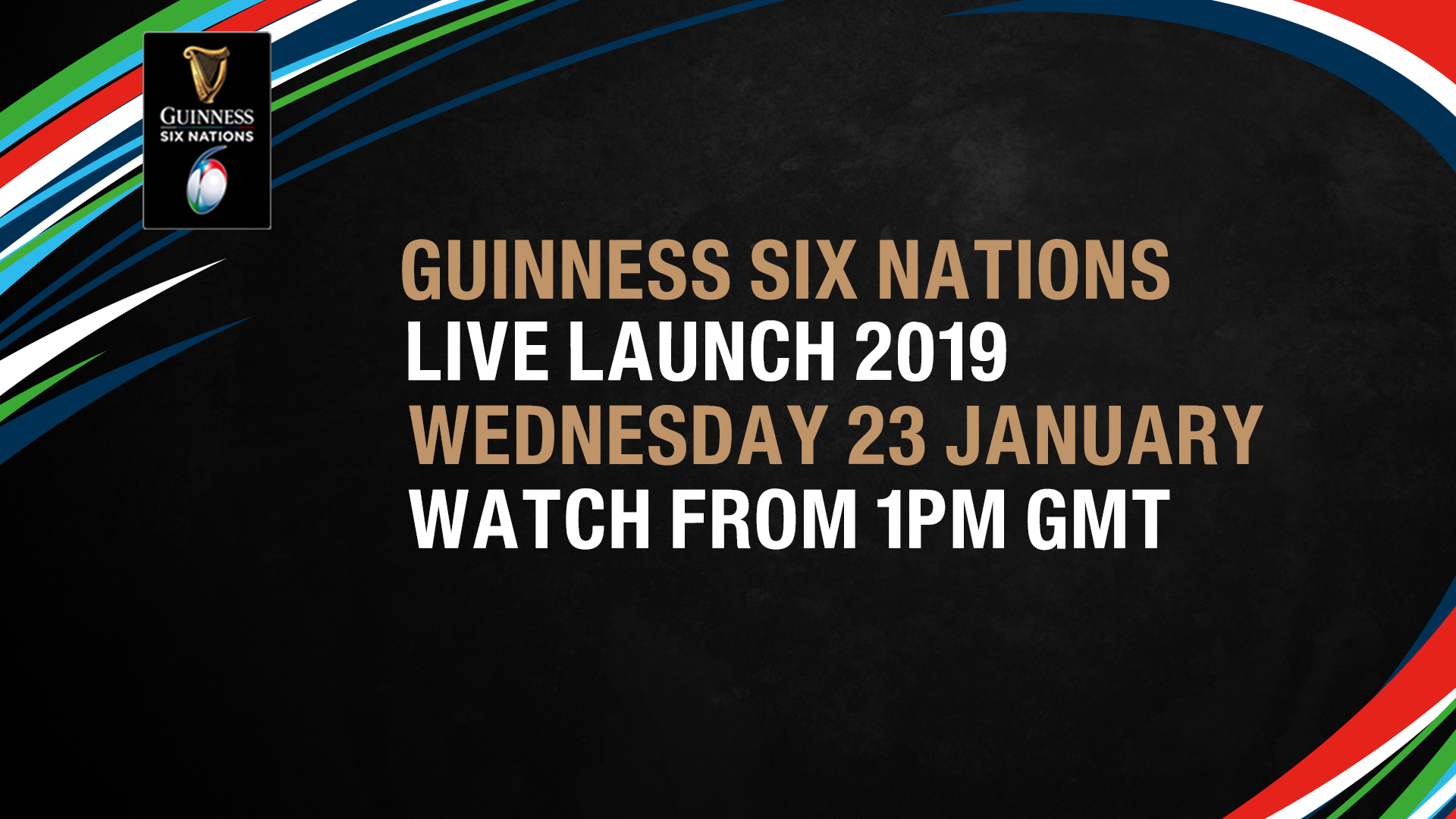 Live Launch 2019 – Watch the Guinness Six Nations launch LIVE today