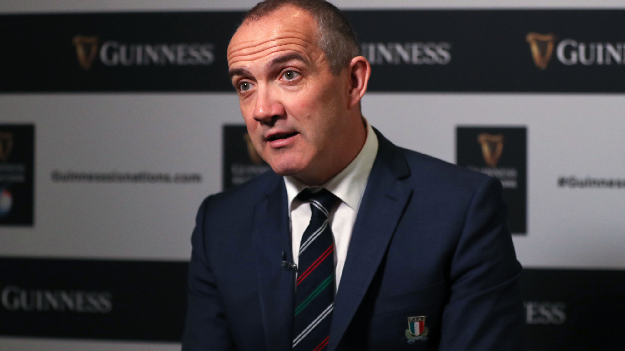 O'Shea demands consistency from exciting Italy