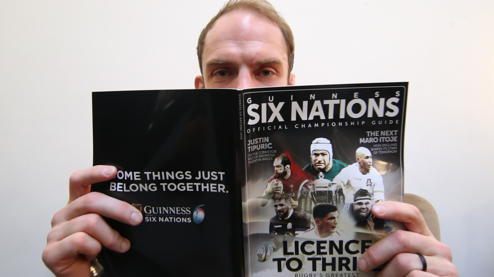 2019 Guinness Six Nations launch – Men's