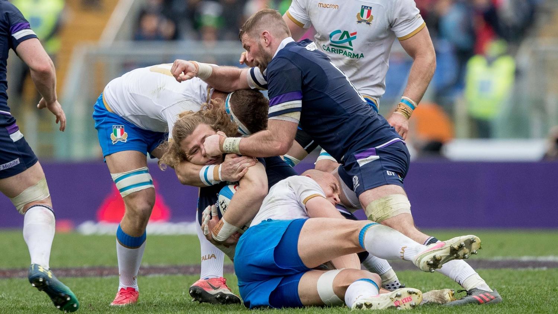 Italy v Scotland 2018