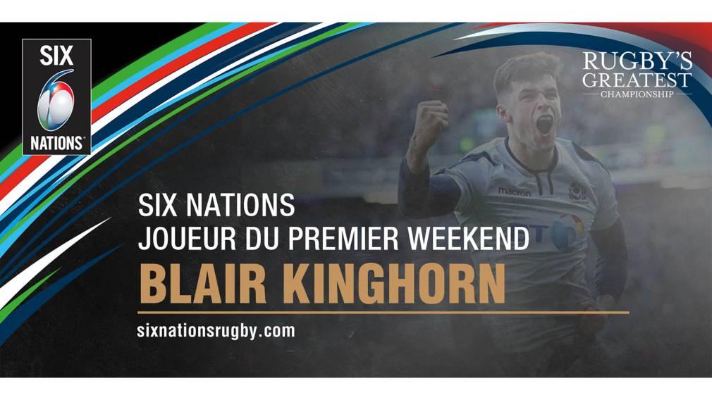 Les supporters ont désigné leur joueur du premier weekend du Tournoi des Six Nations!
