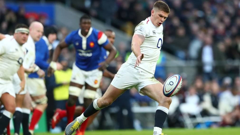 McConnochie set for debut as Farrell leads England against Italy