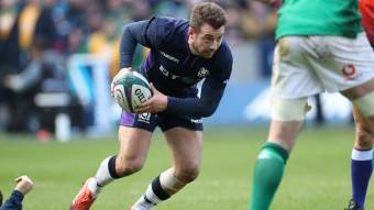 Hogg maintained as Scotland change 14 for France clash