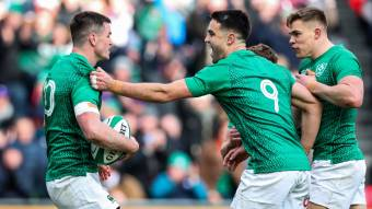 Sexton and Murray set to break half-back record for Ireland