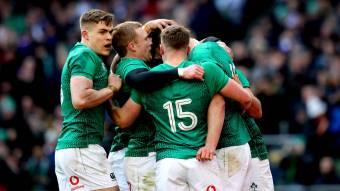World Cup warm-up: Ireland