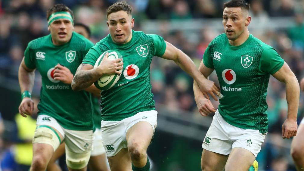 Larmour lifts Leinster to new heights under watchful Farrell eye