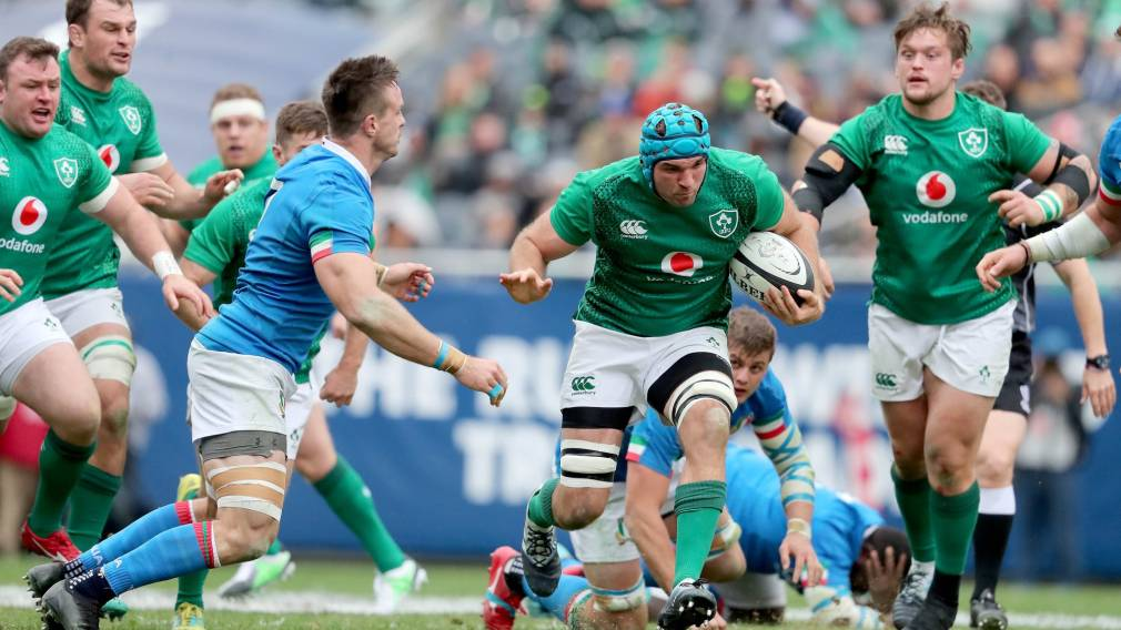Beirne starts as Ireland change three for Wales