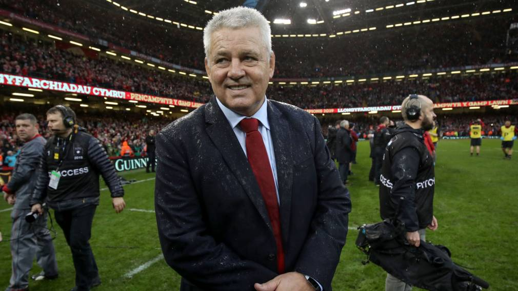 Gatland set to lead the Lions in South Africa