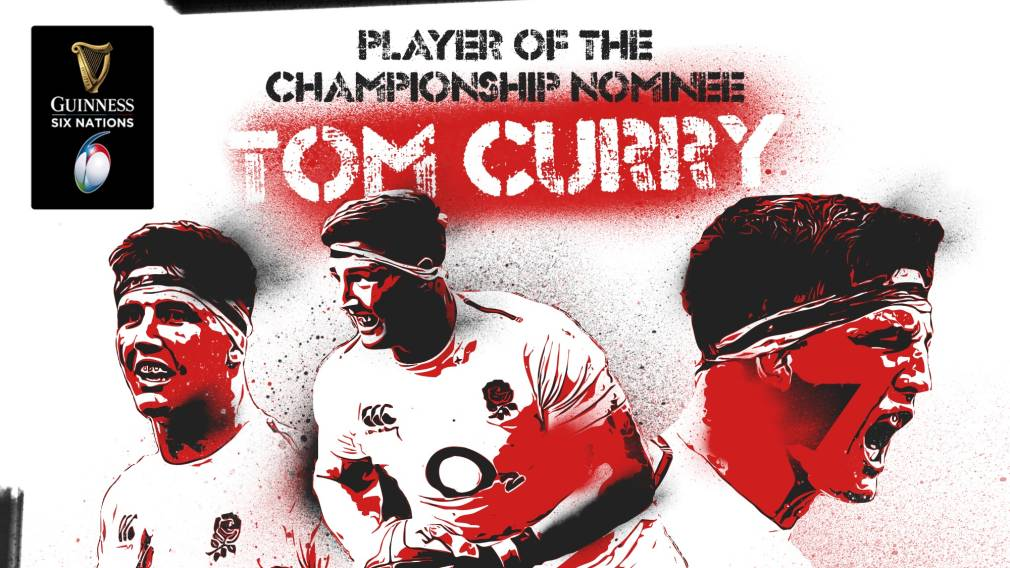 Tom Curry: Guinness Six Nations Player of the Championship nominee