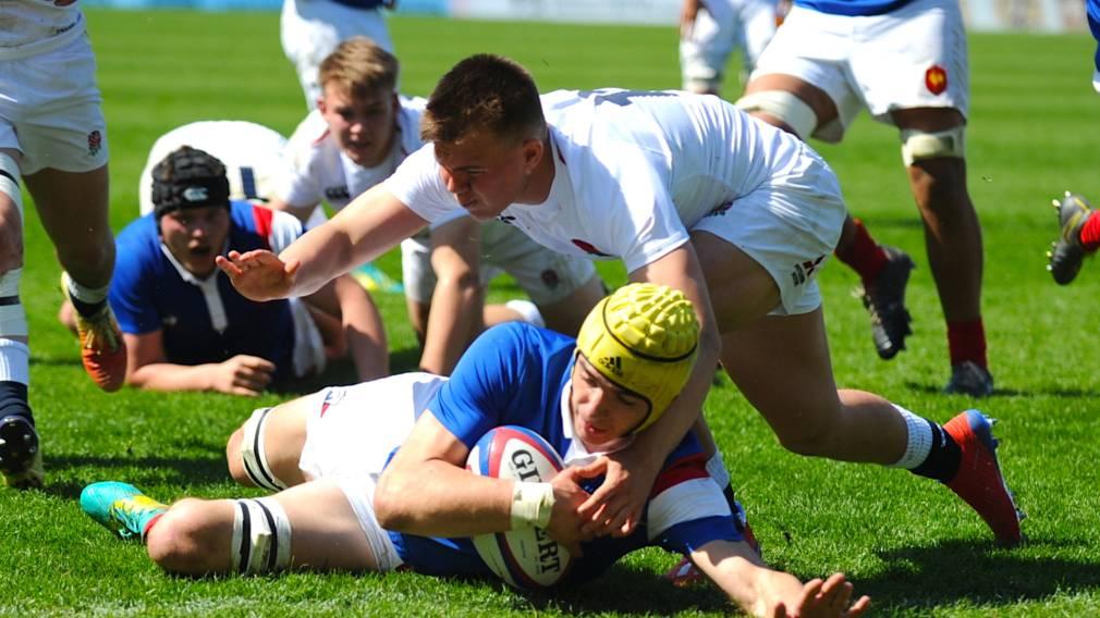 France U18s beat England to remain unbeaten