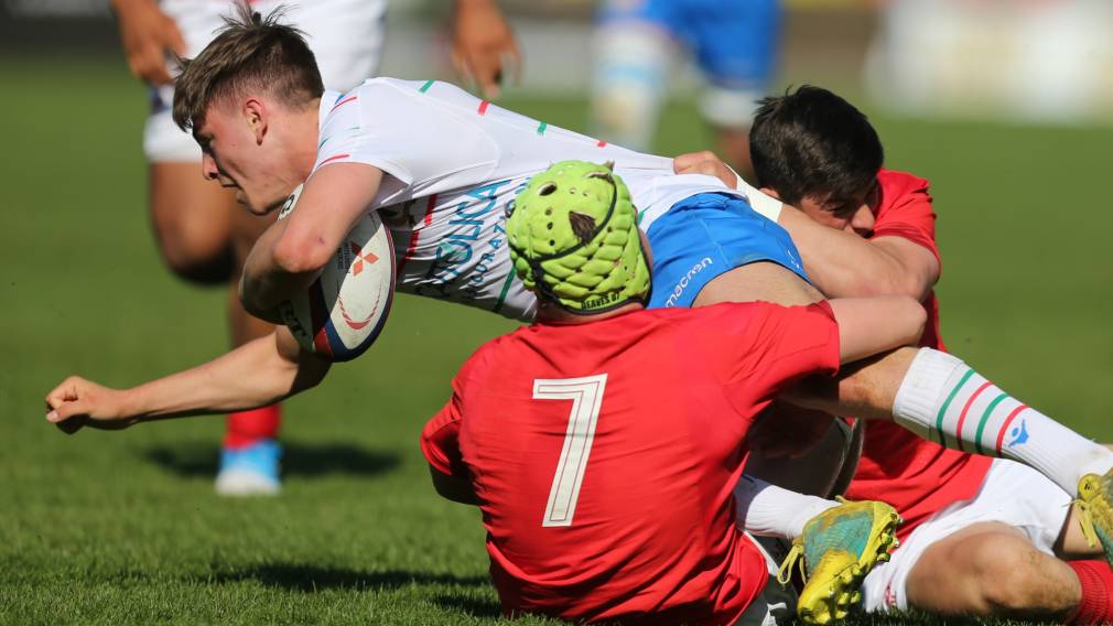 Italy U18s finish on a high with victory over Wales