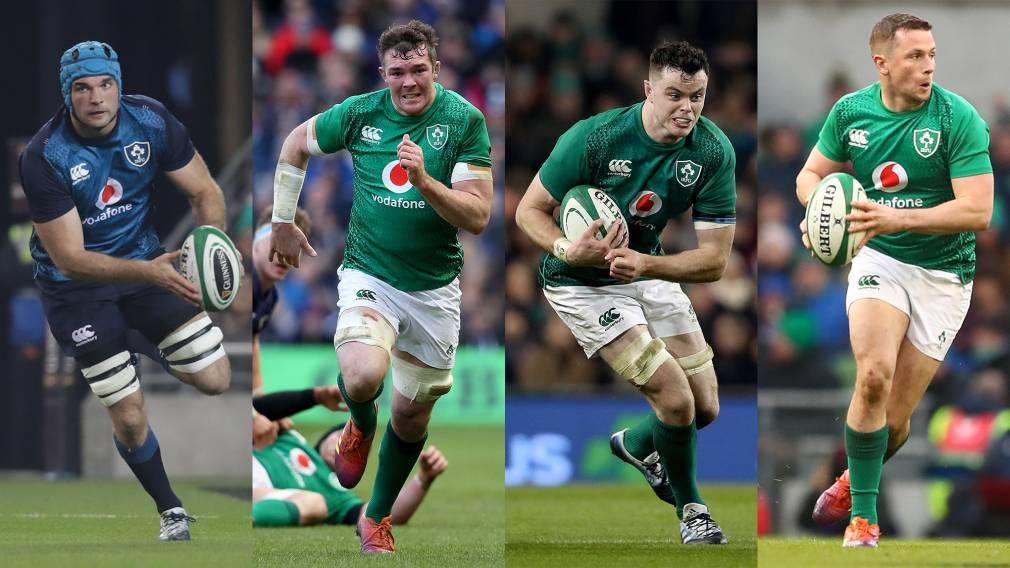 Ryan, Beirne, O'Mahony and Carty nominated for Irish Players' Player of the Year