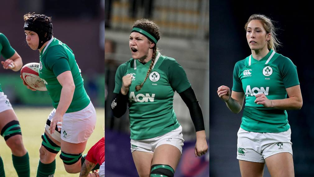 Caplice, Griffin and Considine up for Irish Women's XVs Player of the Year award
