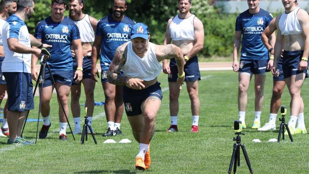 Minozzi thrilled to be back after year on the sidelines