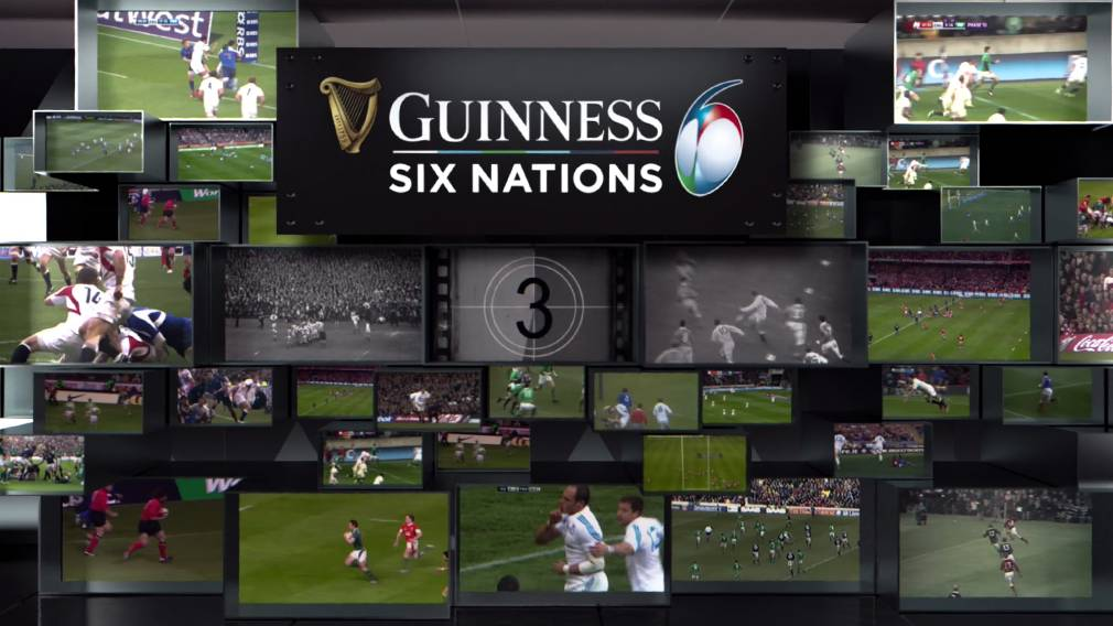 Guinness Six Nations launch new video series 'The Vault'