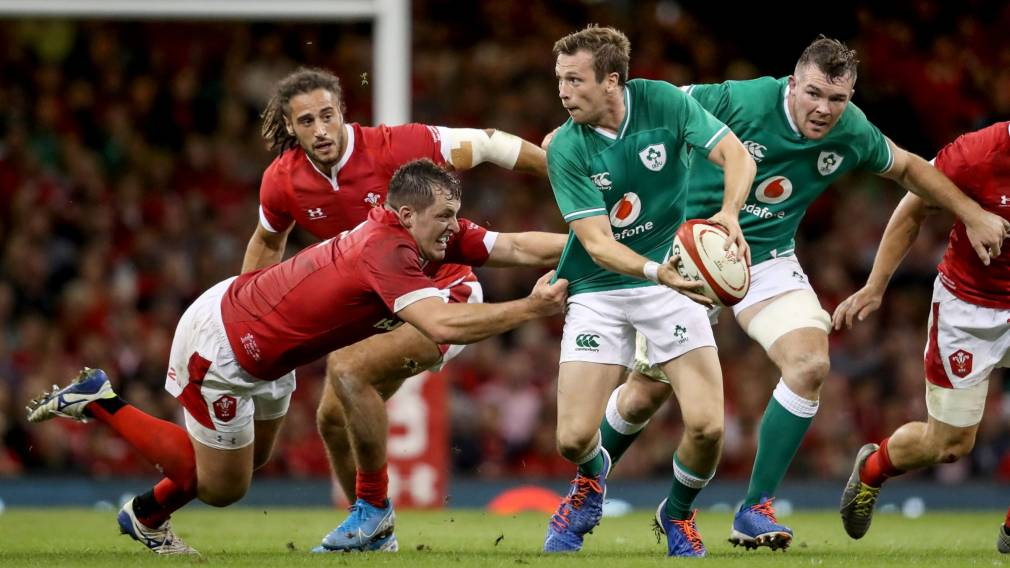 Carty happy to see Ireland respond in Cardiff