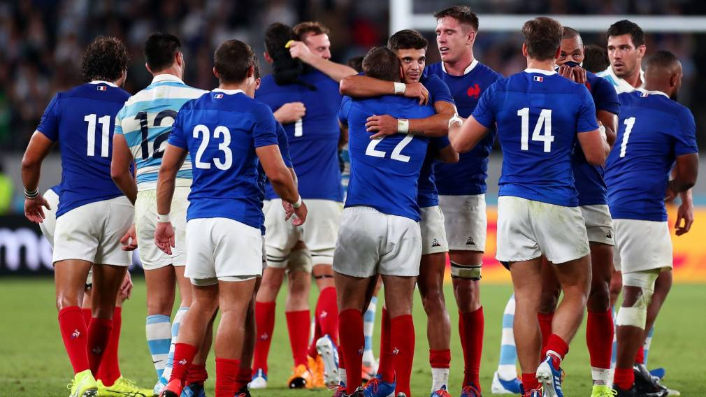 Take Six: France survive to make the last eight