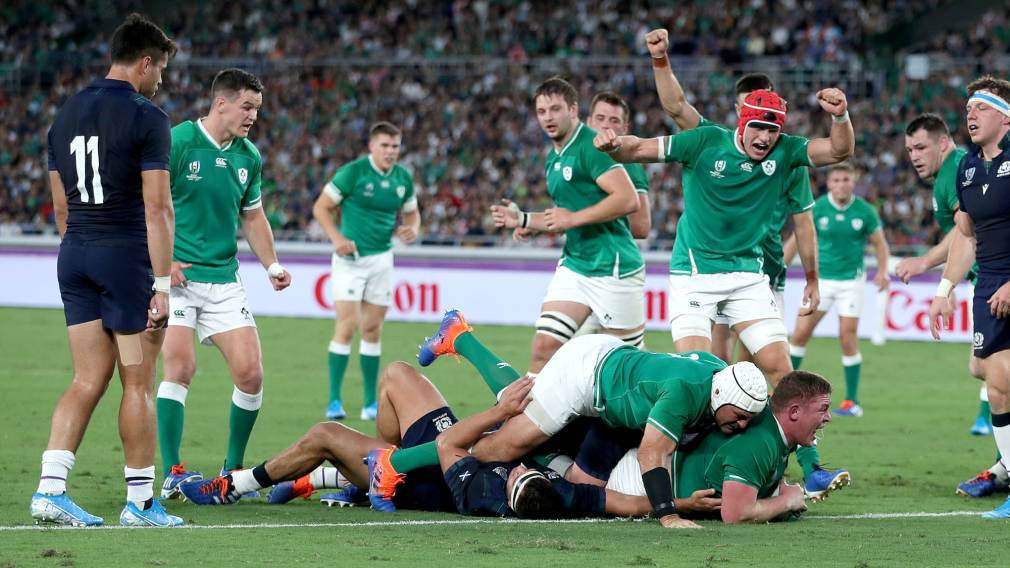 Ireland lay down a marker with opening success over Scotland