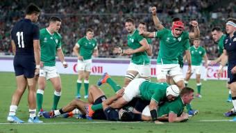 L'Irlande en grande forme pour débuter