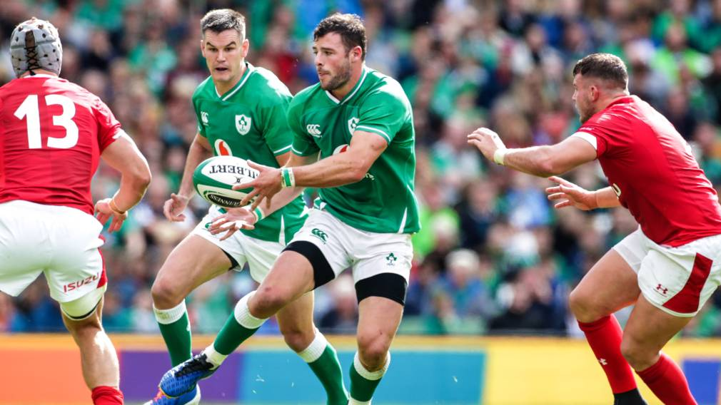 Ireland 47 - 5 Samoa: Ireland overcome red card to make quarter finals