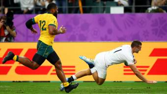 May brace helps England down Wallabies