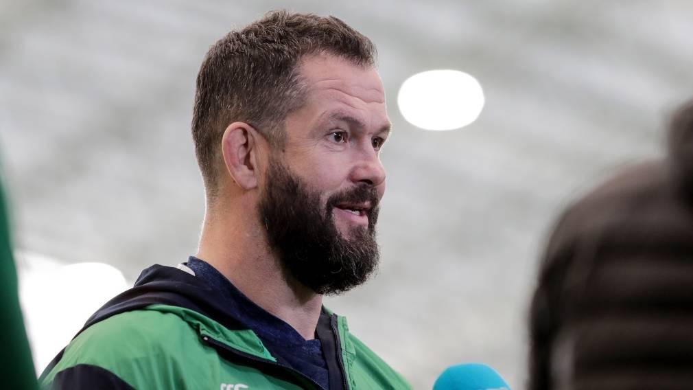 Farrell reflects on first Ireland mini-camp