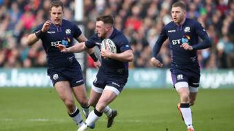 Hogg captains Scotland squad including six uncapped players