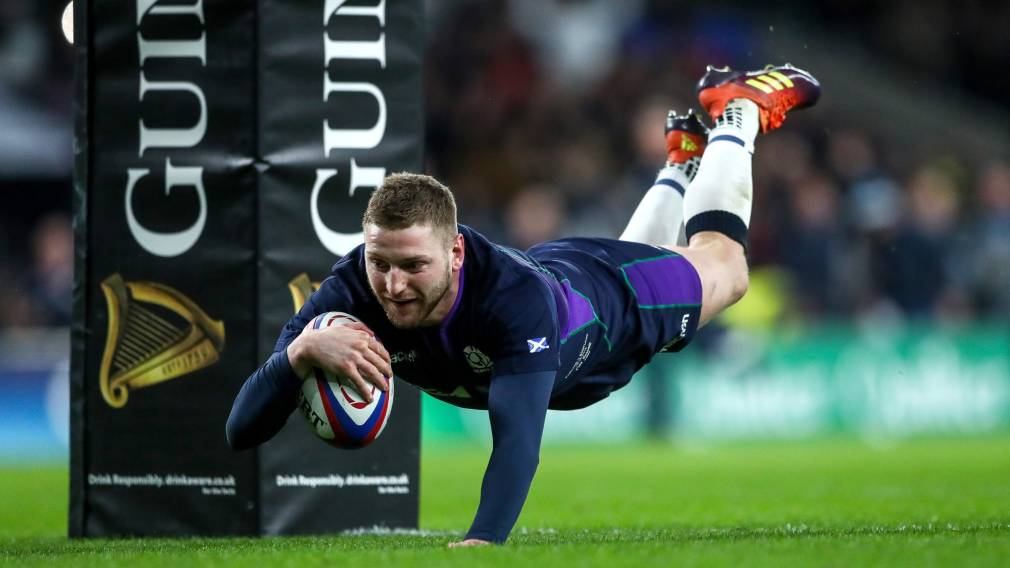 Scotland's Finn Russell ruled out of Ireland opener after team protocol breach