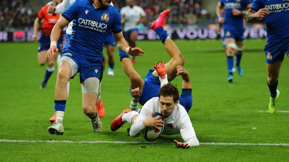 WATCH: Serin scores stunning try as France down Italy