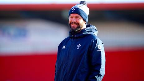 Andy Farrell will name his Ireland squad on Ireland