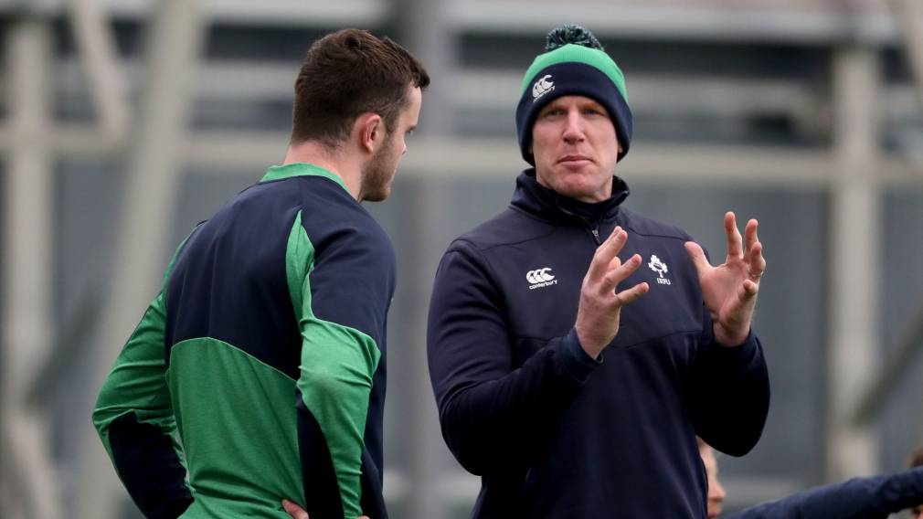 Bono and O'Connell visit Ireland camp ahead of England clash