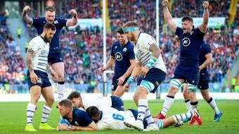 La Scozia vince a Roma e lascia l'Italia ultima