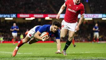 Ntamack named Guinness Six Nations Player of the Round