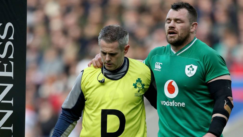 Ireland's Healy to miss rest of Championship due to injury