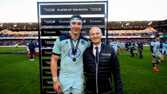 Scotland's Jamie Ritchie named Guinness Six Nations Player of the Match