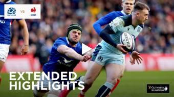 Extended Highlights: Scotland v France